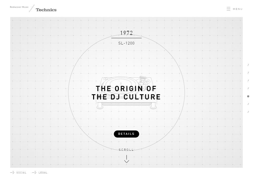 Technics global site