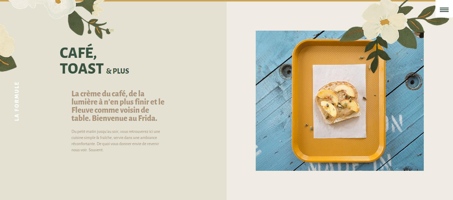 Café Frida - Website of the Day