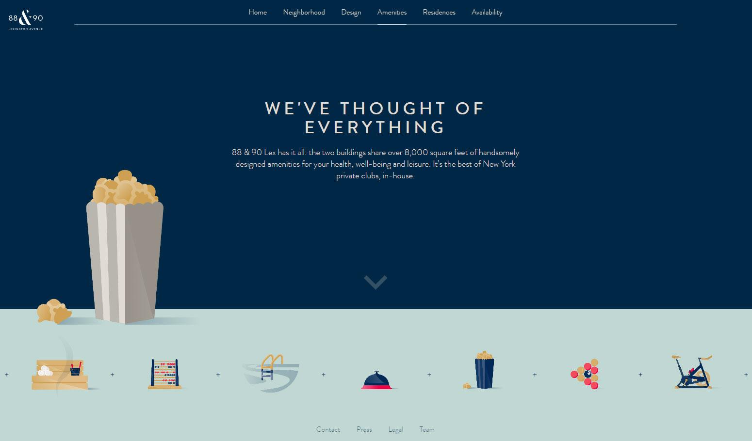 88 & 90 Lexington Avenue - Website of the Day