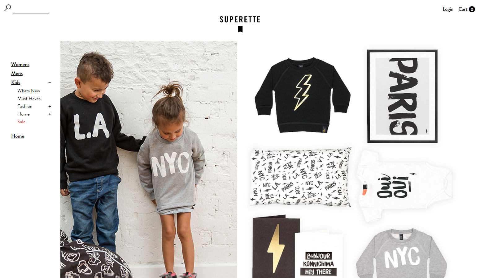 Superette - Website of the Day