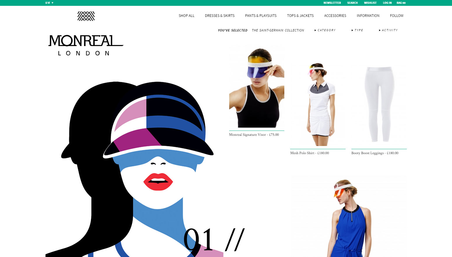 Monreal London - Website of the Day