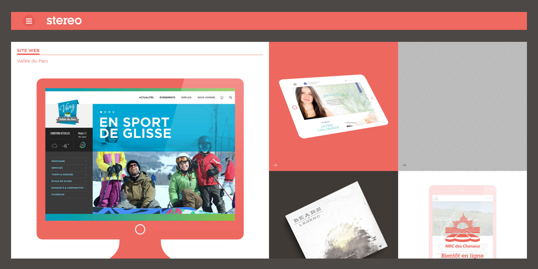 Stereo - Website of the Day