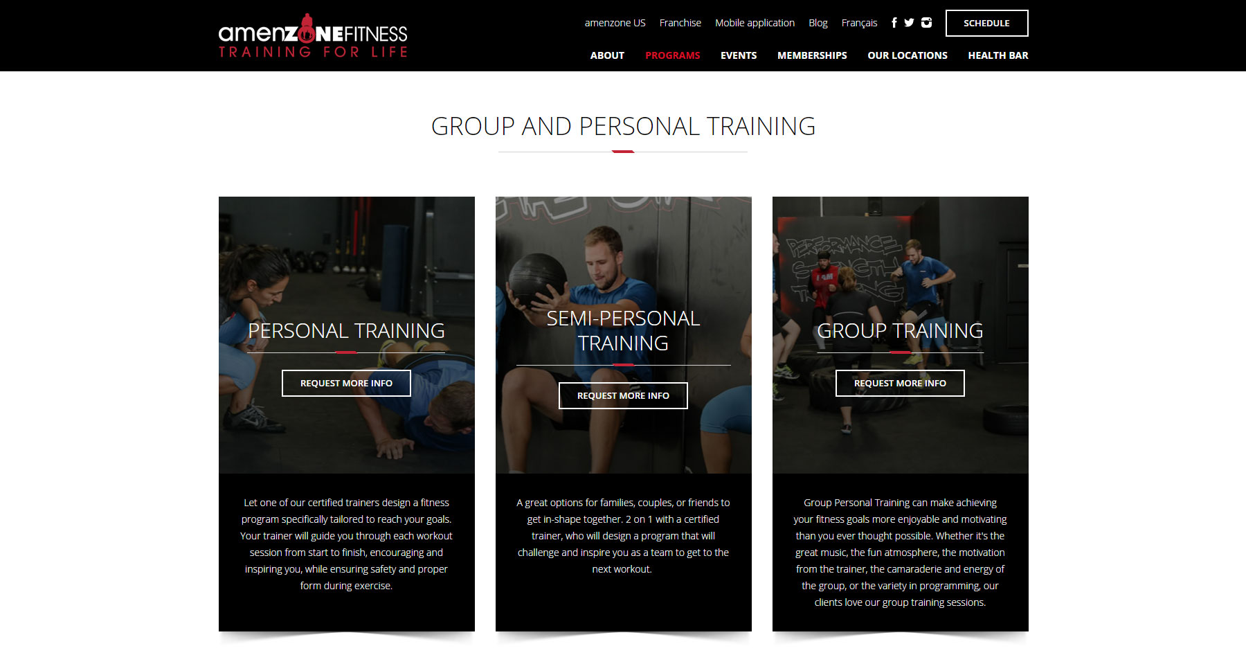 Amenzone Canada - Website of the Day