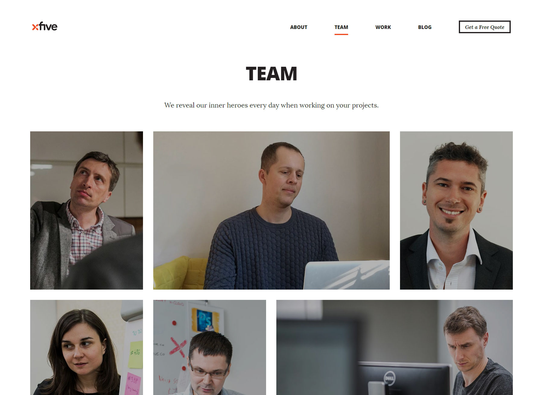 Xfive - Developers who care - Website of the Day