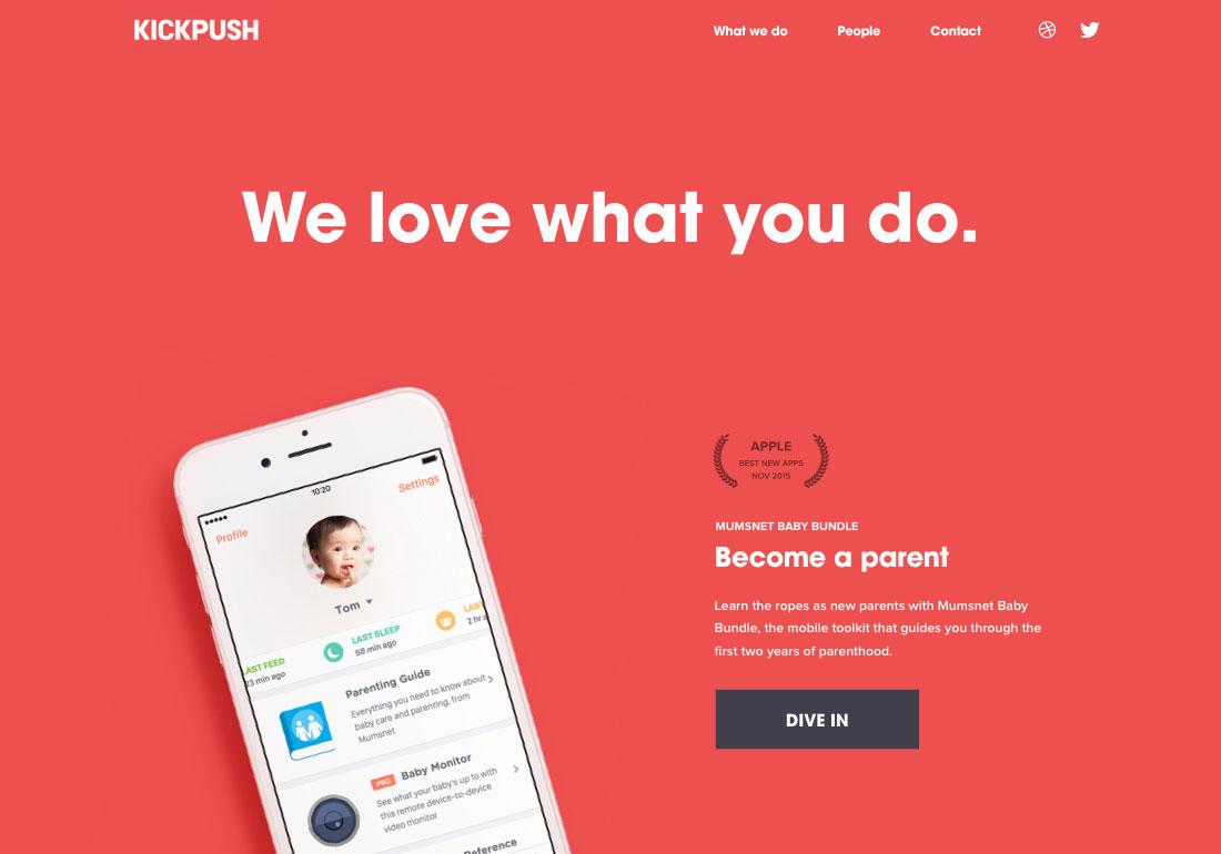 Kickpush - Product design studio