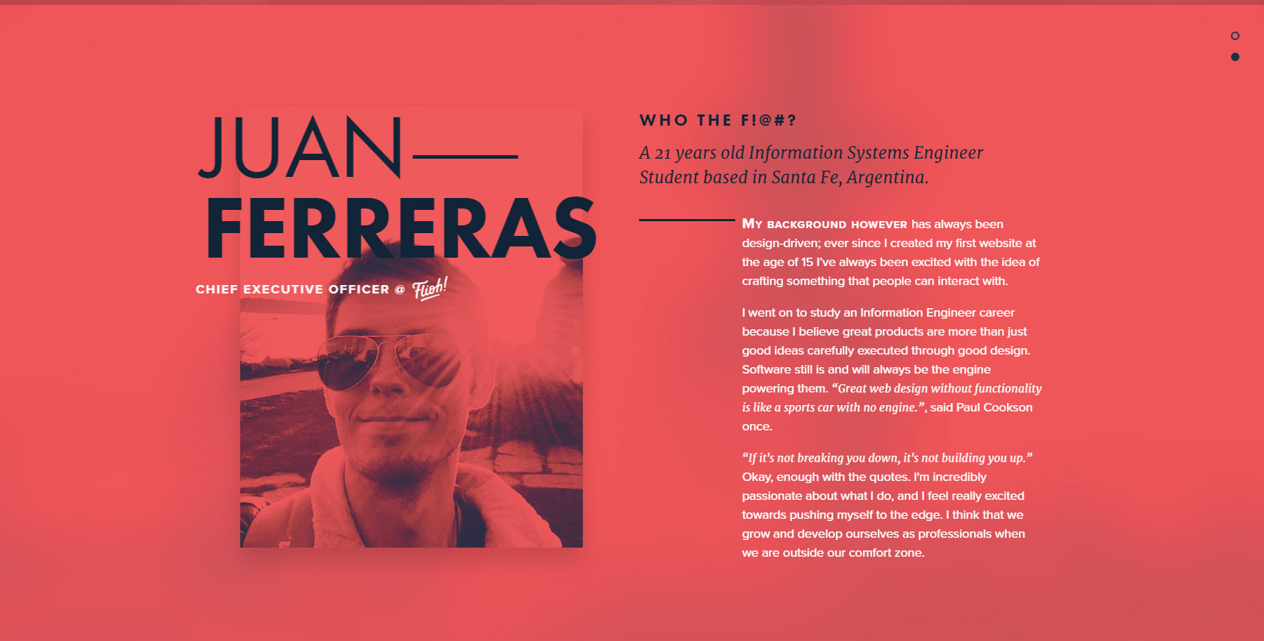 Juan Ferreras - Website of the Day
