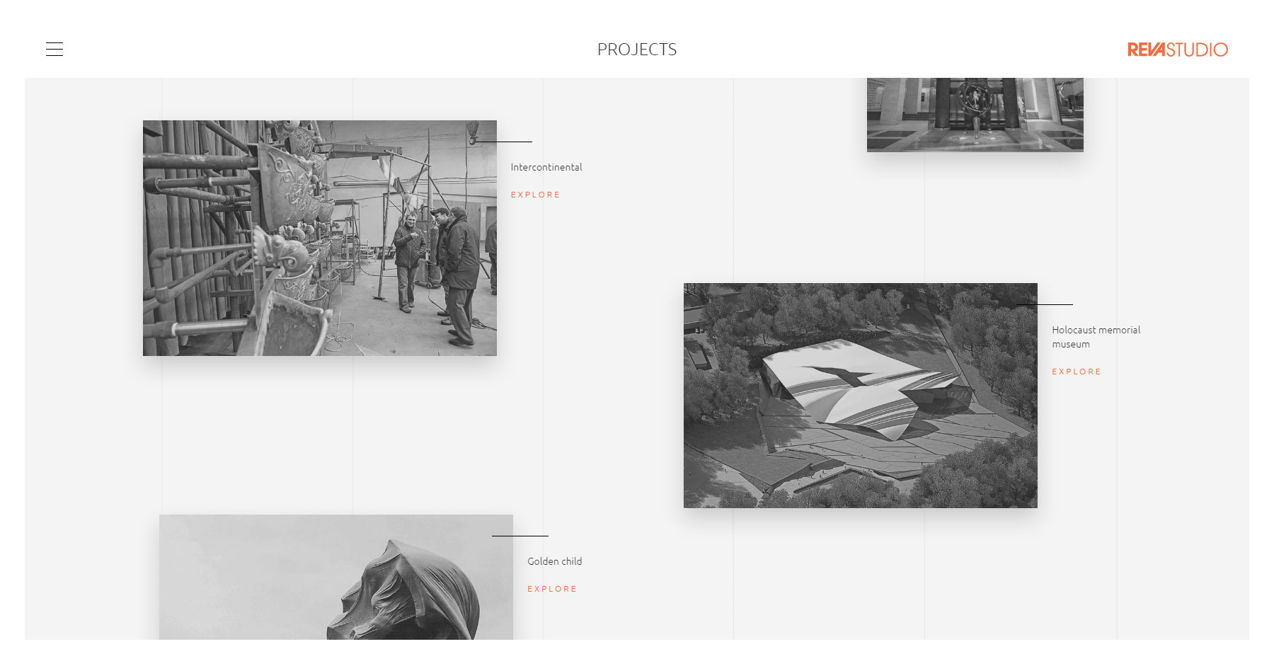 REVA Studio  - Website of the Day