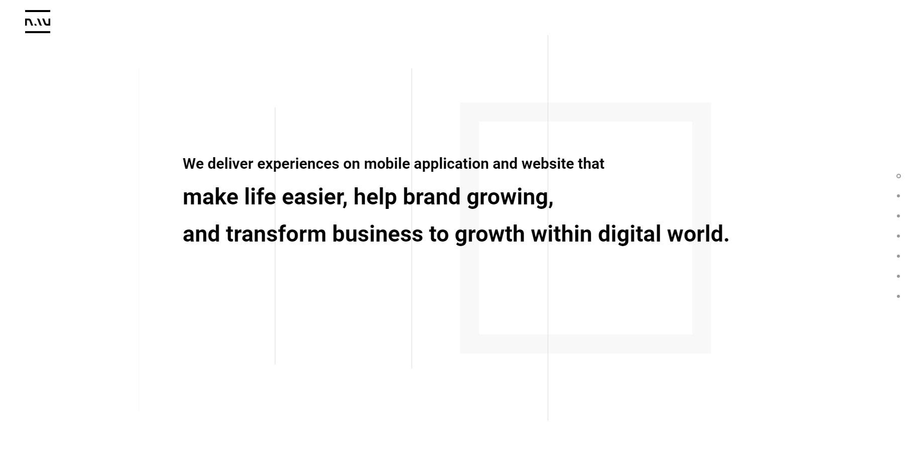 Nau Digital Creative Studio - Website of the Day