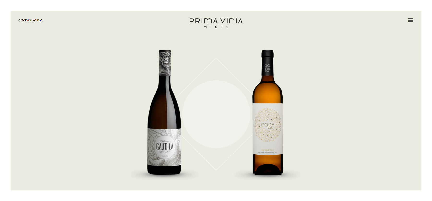 PRIMA VINIA WINES  - Website of the Day