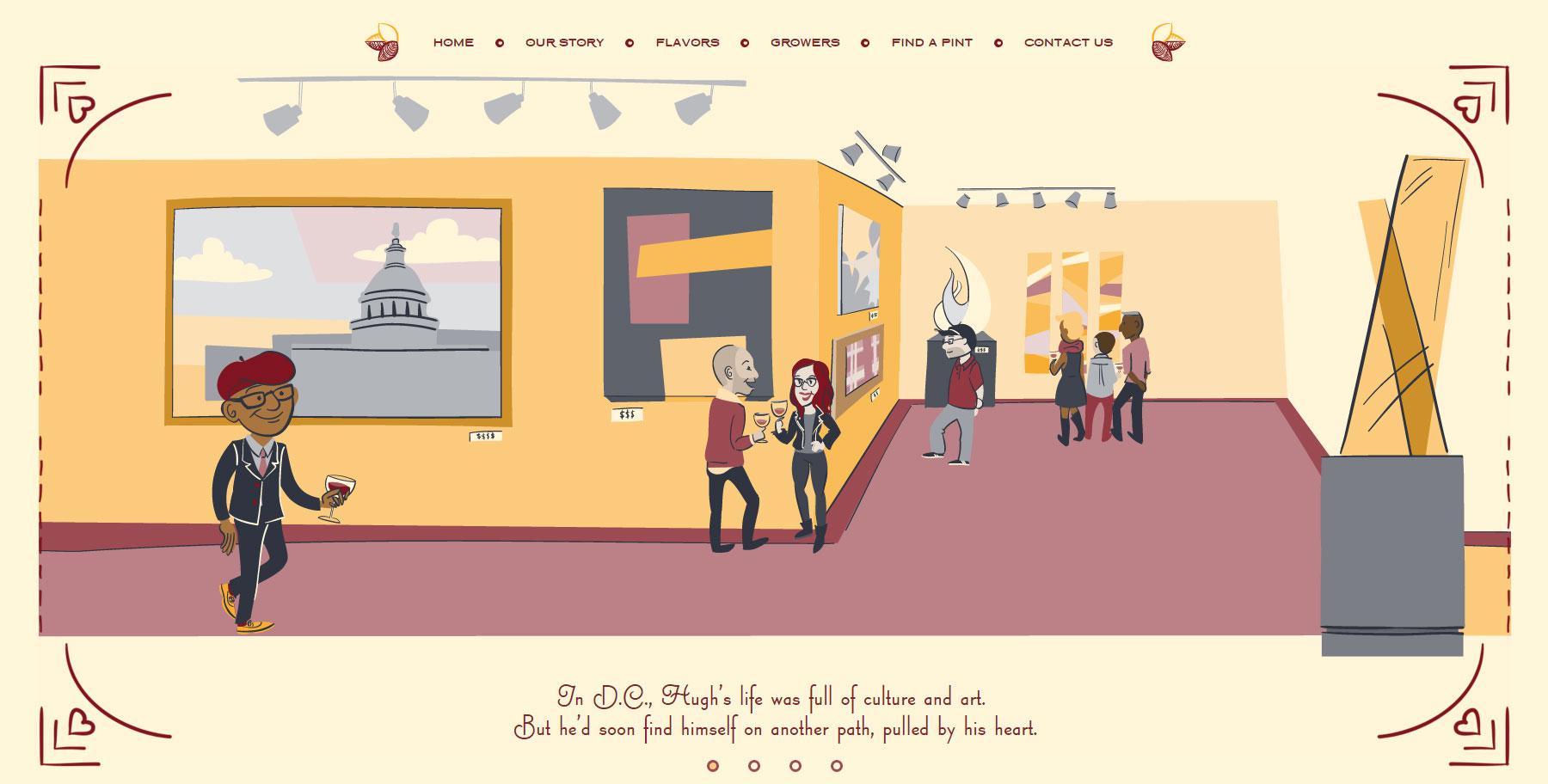 Sweet Magnolia Gelato Company - Website of the Day