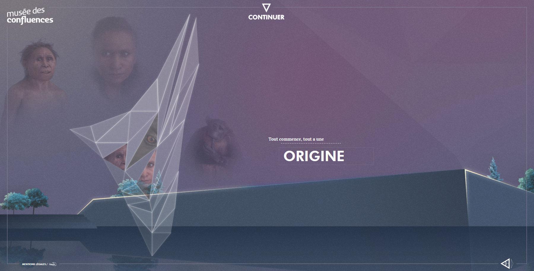 Musée des Confluences - Adventure's - Website of the Day