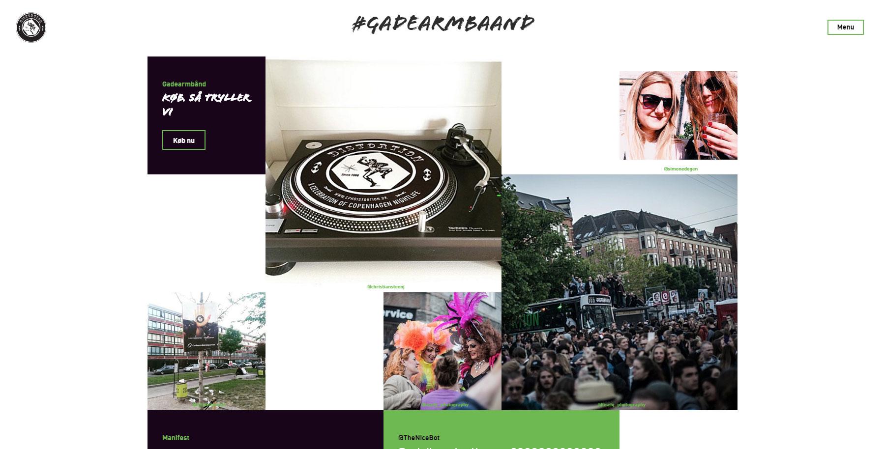 Distortion Gadearmbaand - Website of the Day