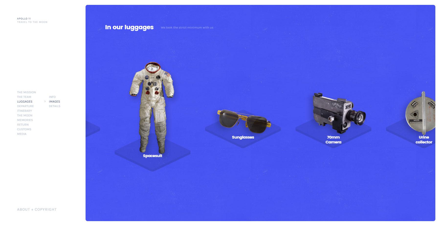 Apollo 11 - Website of the Day