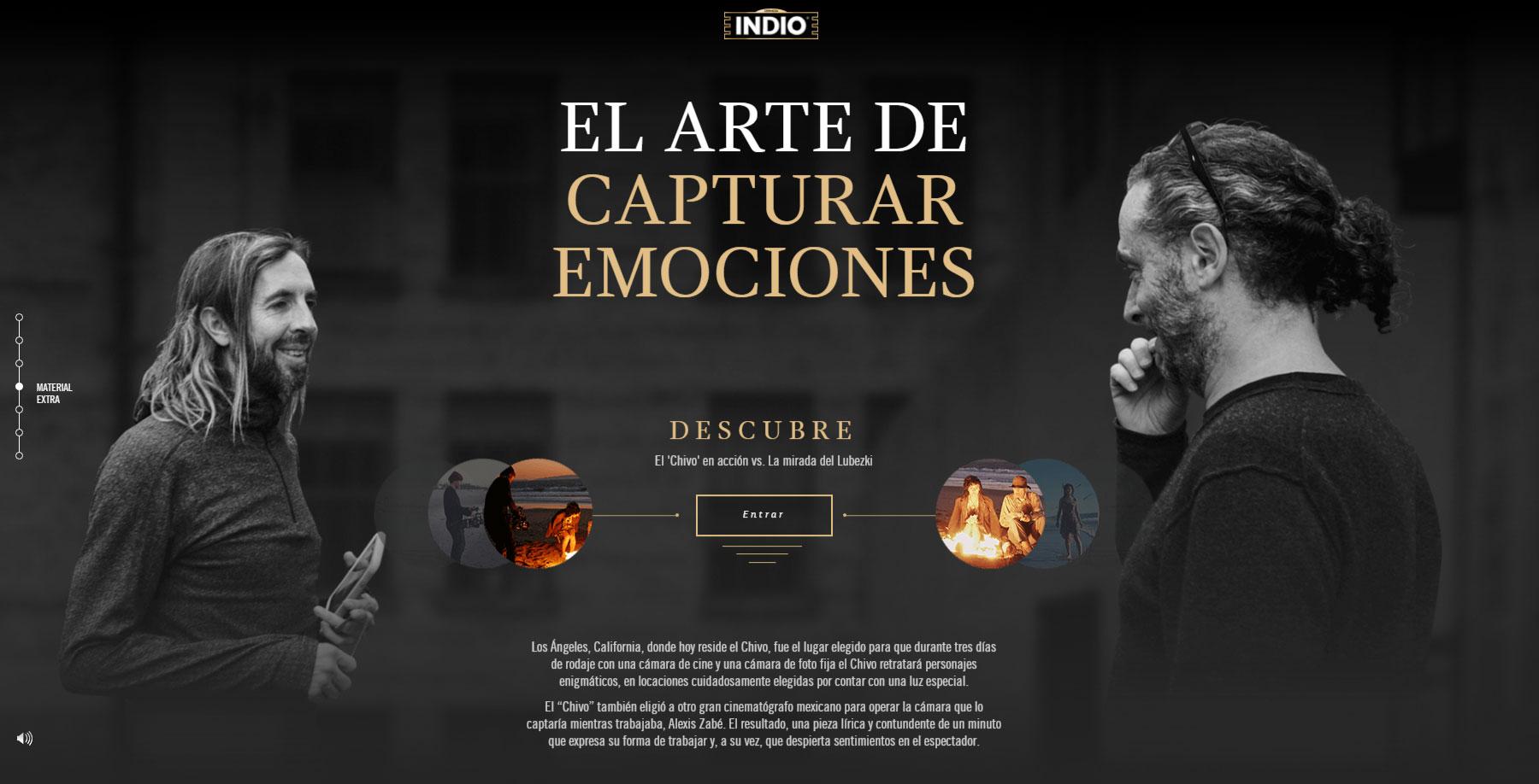Lubezki + INDIO - Website of the Month