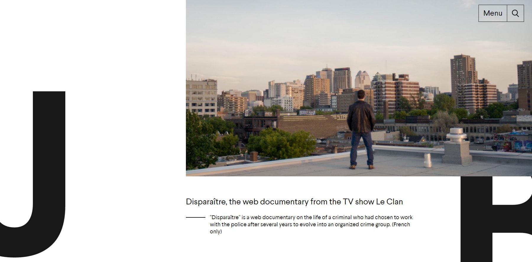 Jérémie Battaglia - Website of the Day