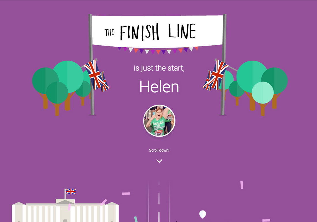 JustGiving: The Finish Line