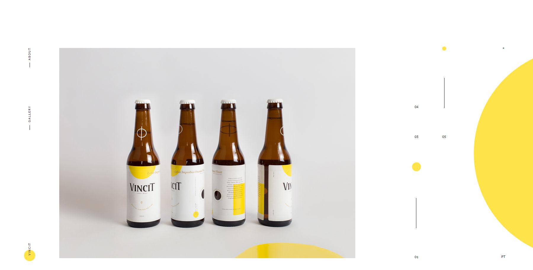 Vincit Beer - Website of the Day