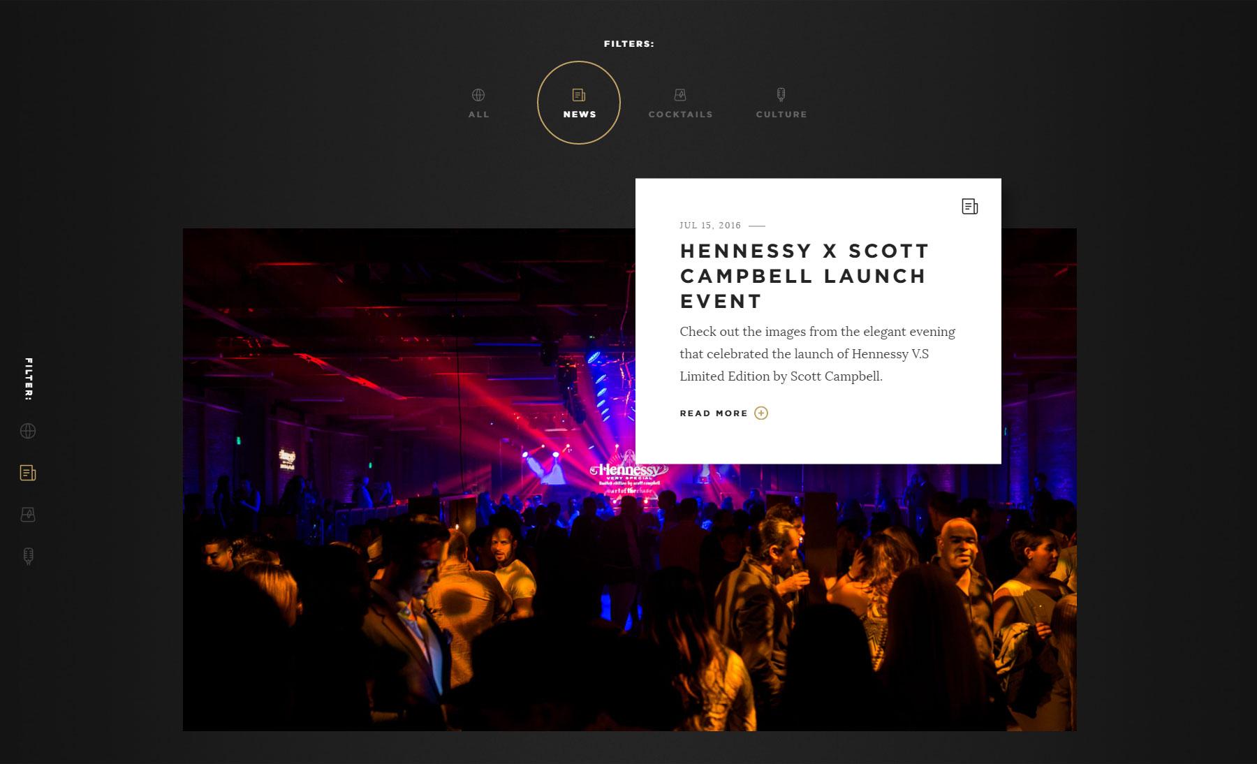 Moët Hennessy USA - Website of the Day