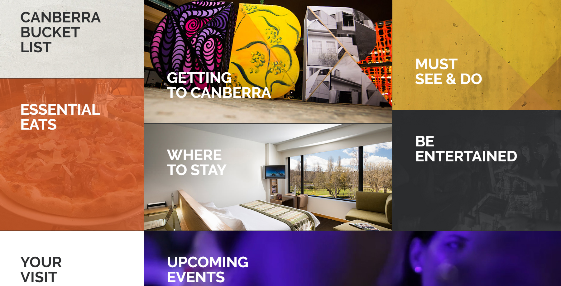 National Convention Centre Canberra - Website of the Day