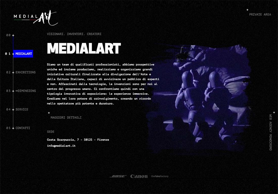 Medialart - Immersive Exhibitions