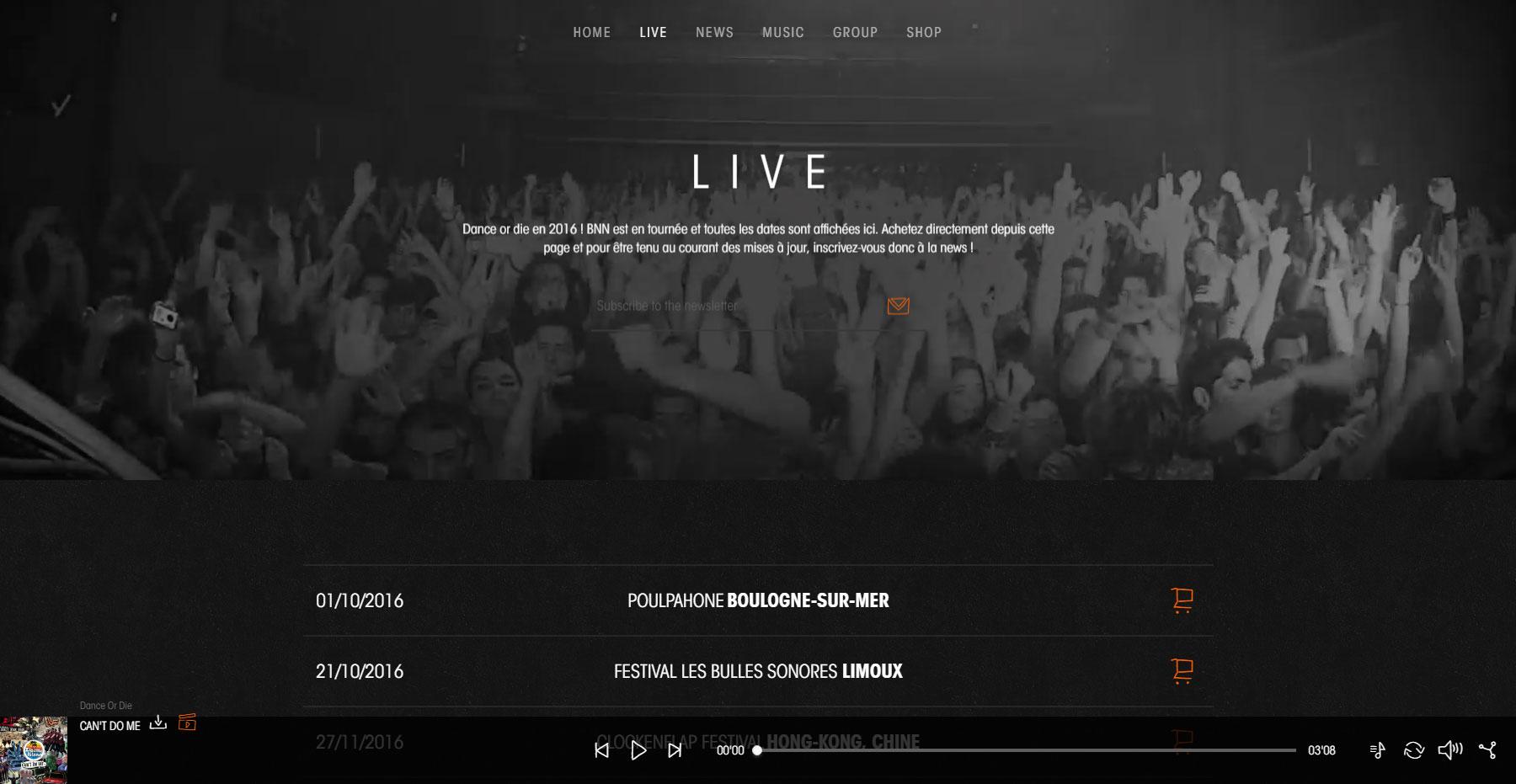 Birdy Nam Nam - Website of the Day