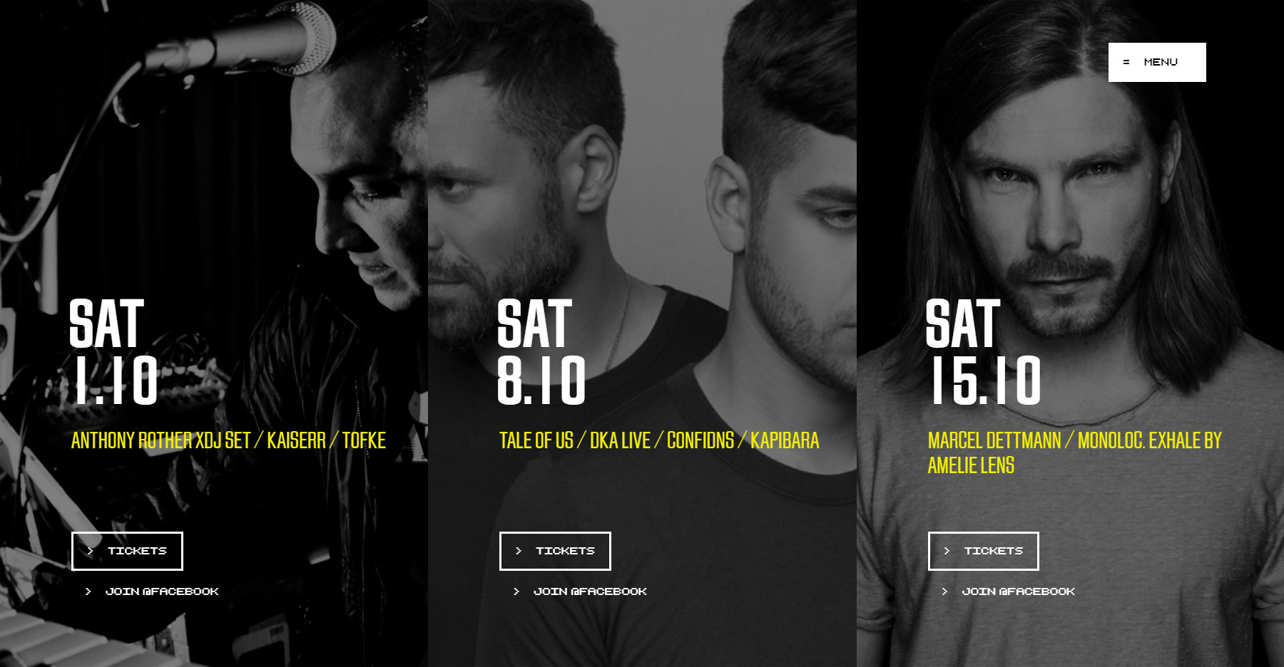 Labyrinth club Belgium - Website of the Day