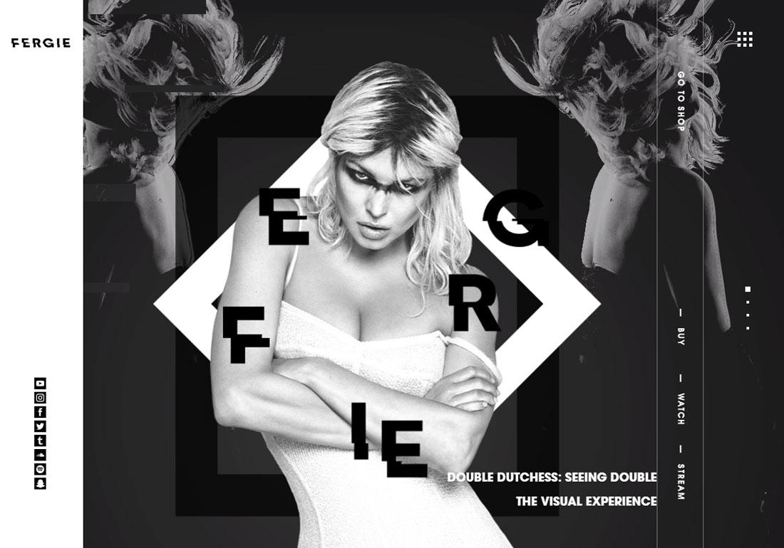 Fergie - official website