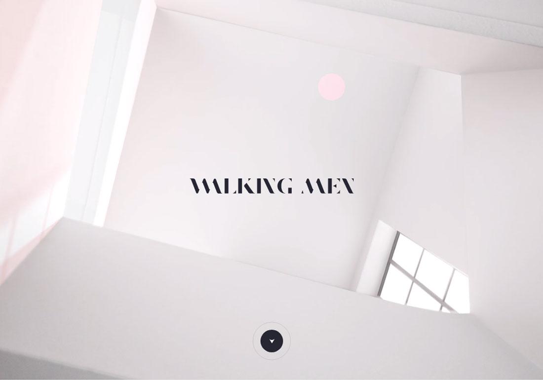 Walking Men agency website
