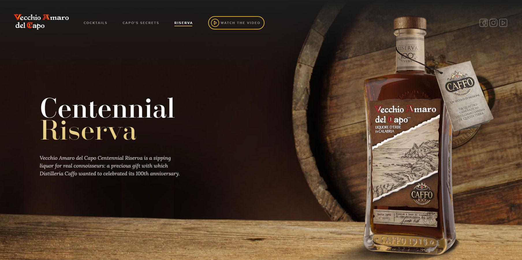 Vecchio Amaro del Capo - Website of the Day