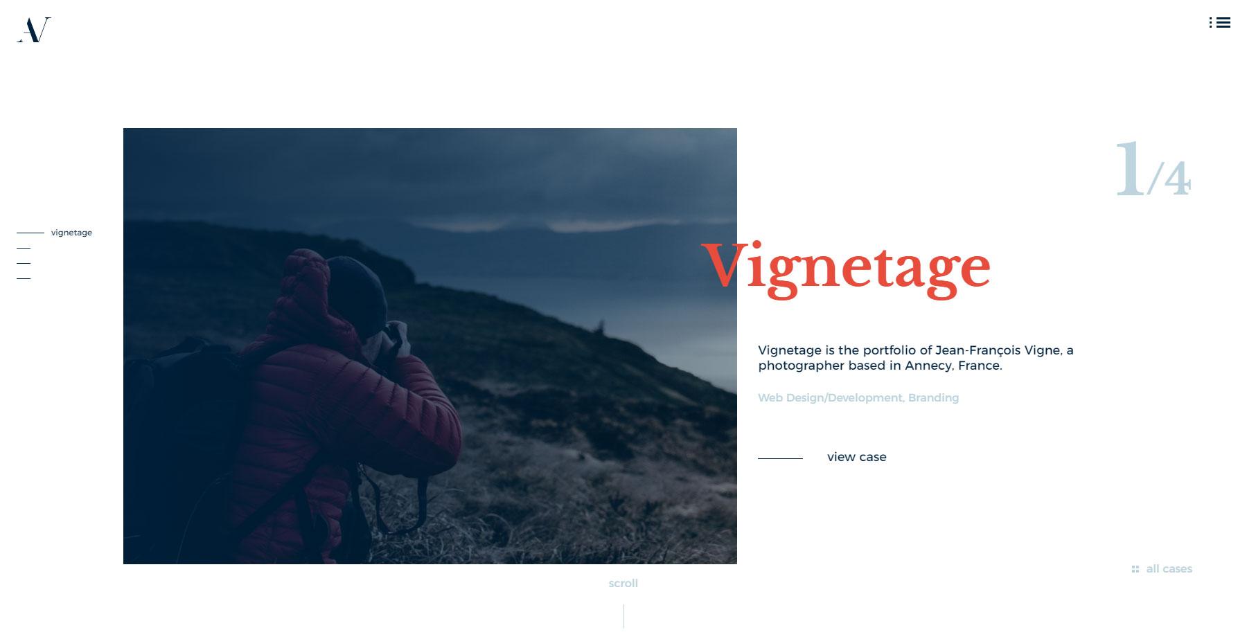 Aurelien Vigne - Website of the Day