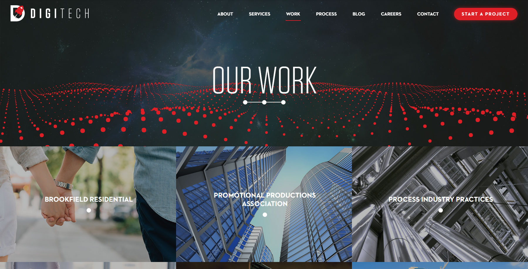 digiTech Web Design - Website of the Day