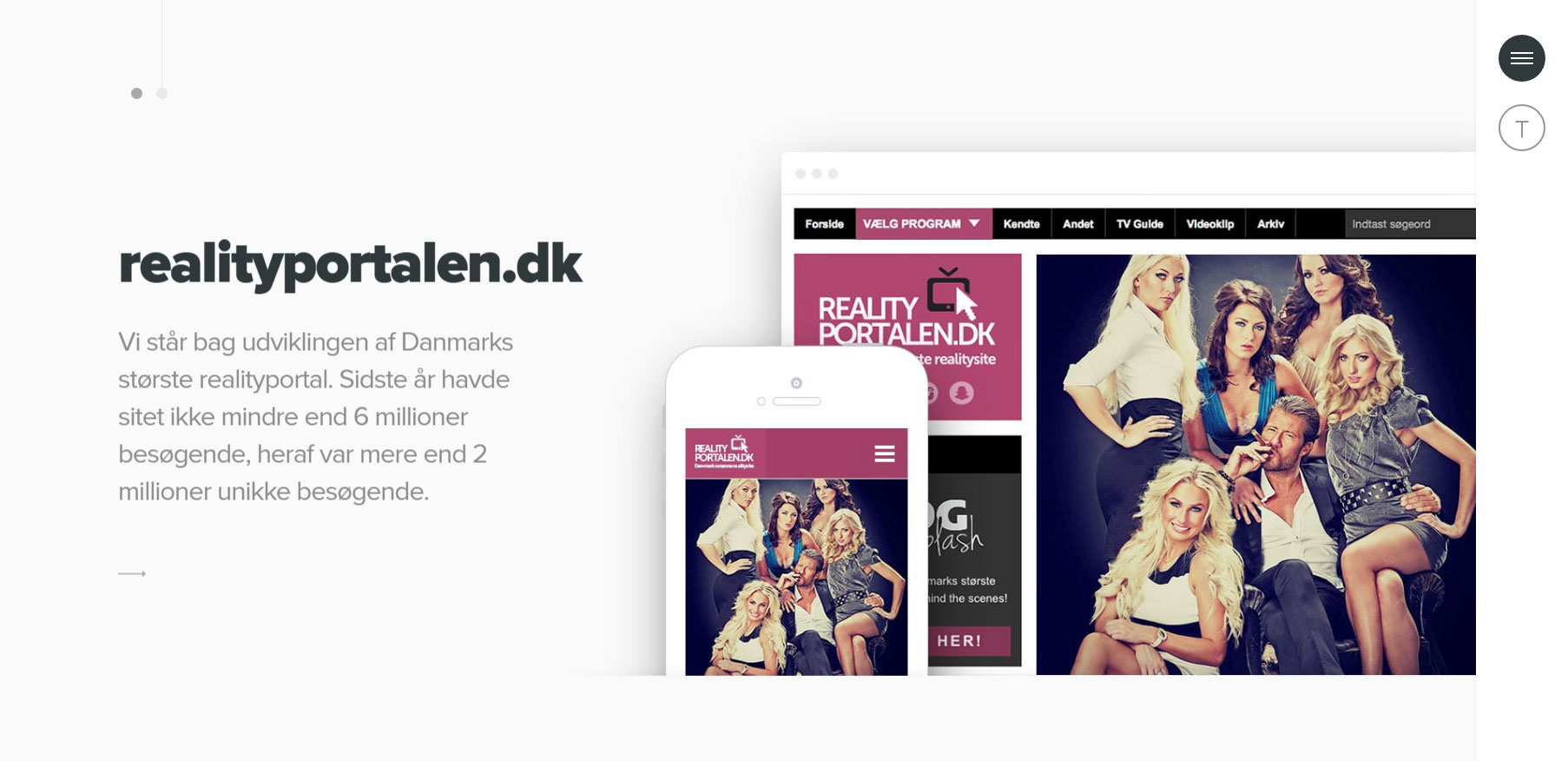 radoor & co | webbureau i Odense - Website of the Day