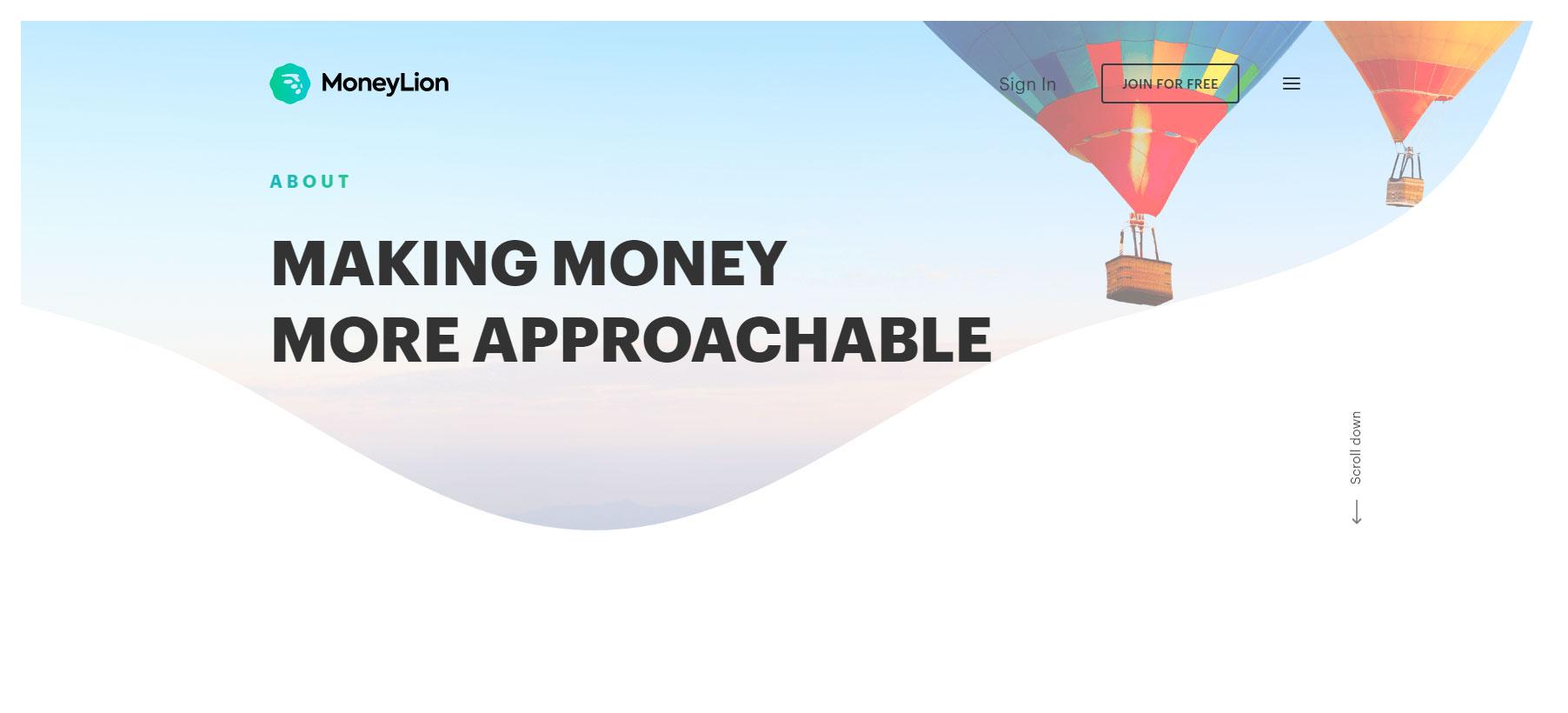 MoneyLion - Website of the Day