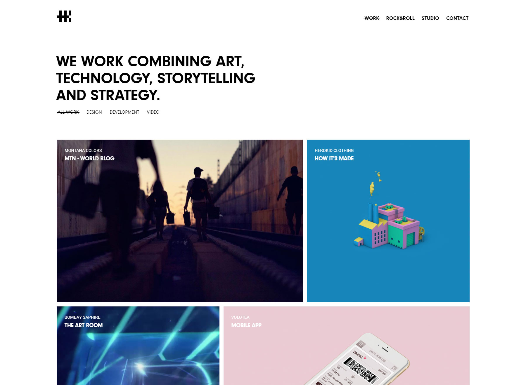 Herokid Studio - Website of the Day