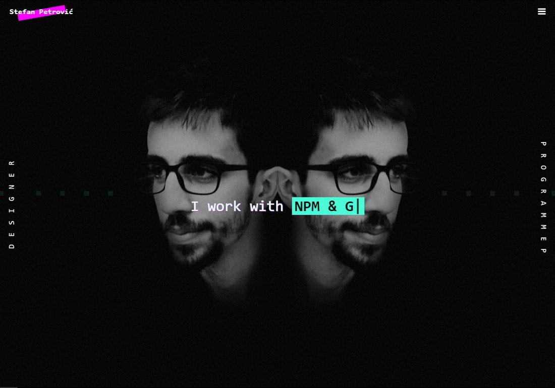 Stefan Petrovic - Portfolio Website