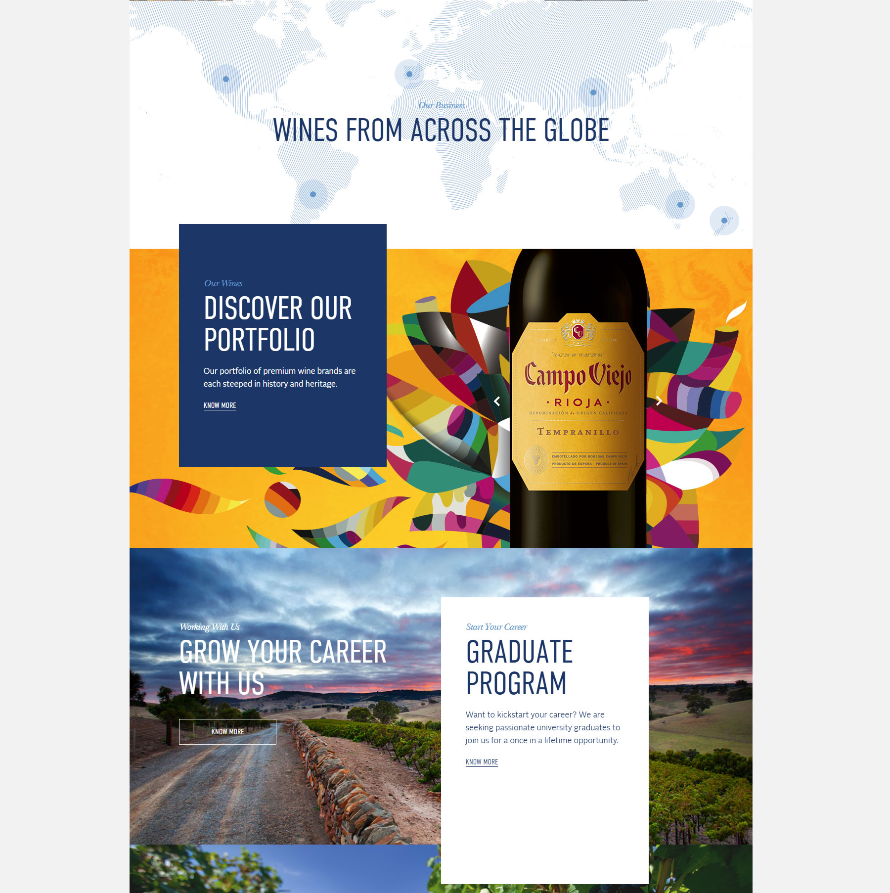Pernod Ricard Winemakers - Website of the Day