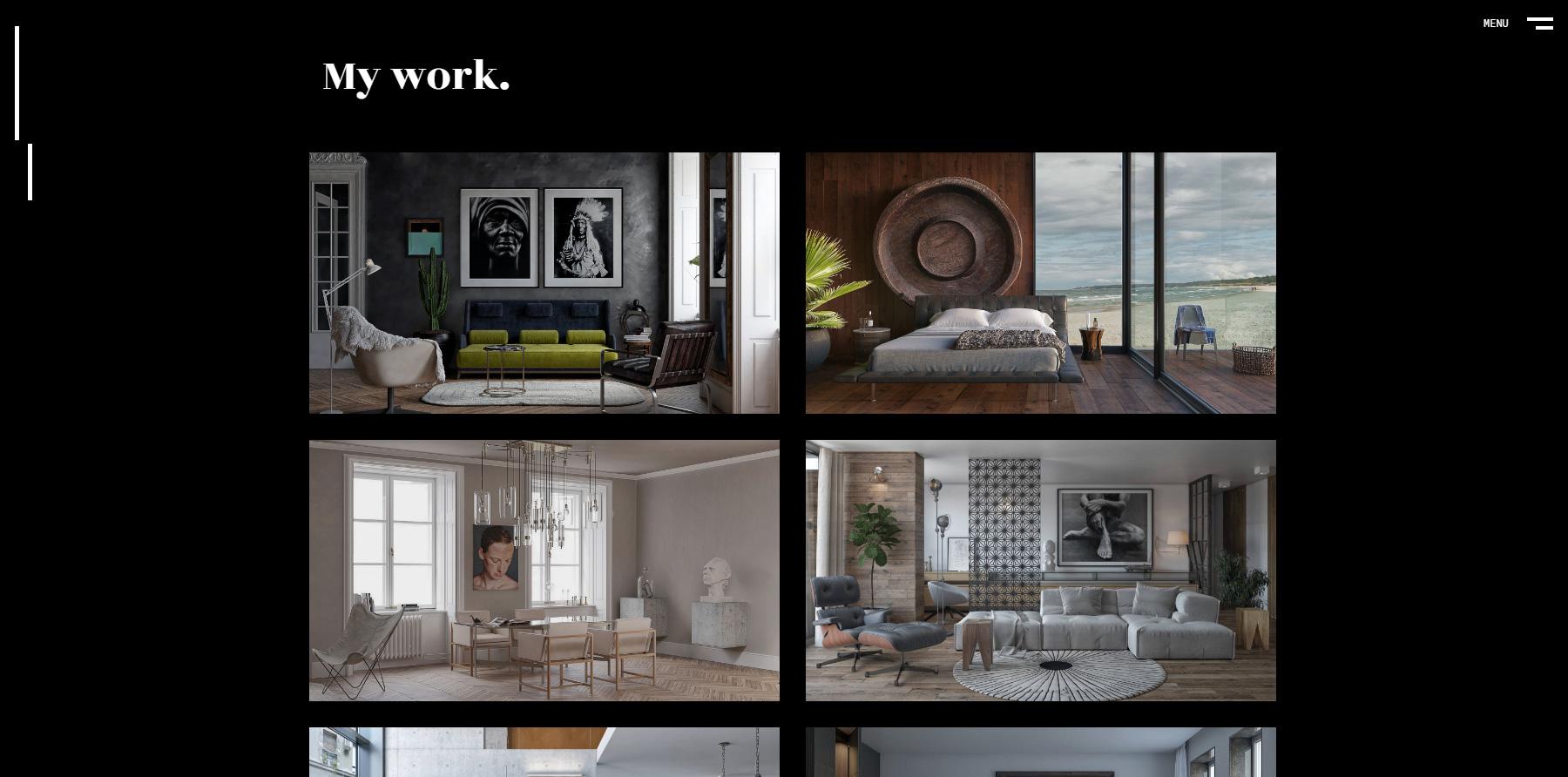 Nenad Zivojinovic portfolio - Website of the Day