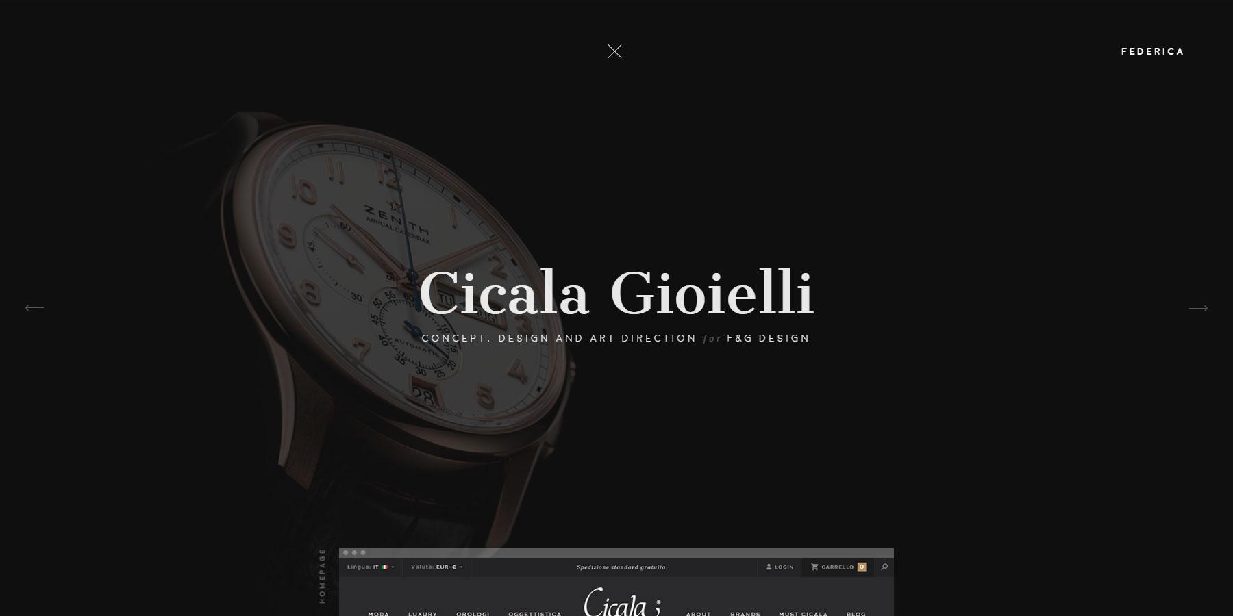 Federica Gandolfo - Portfolio - Website of the Day
