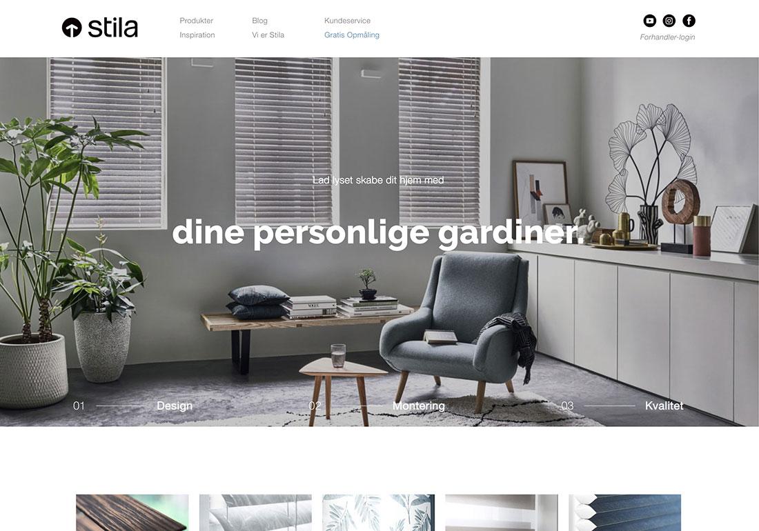 Stila website