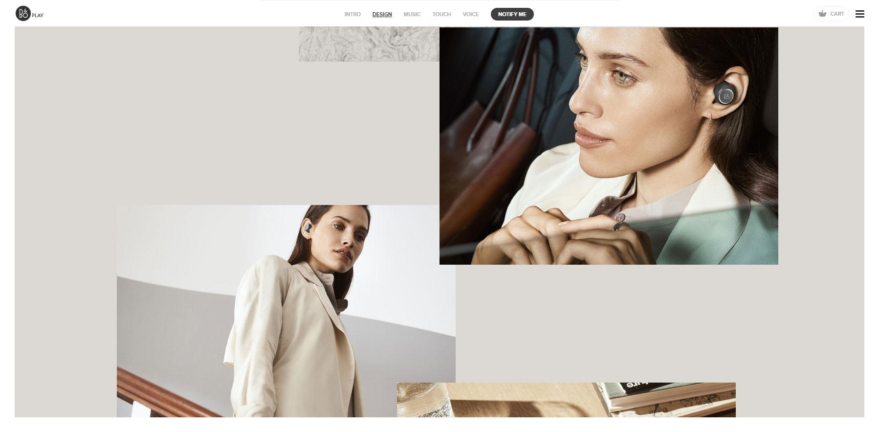 B&O PLAY E8 - Website of the Day