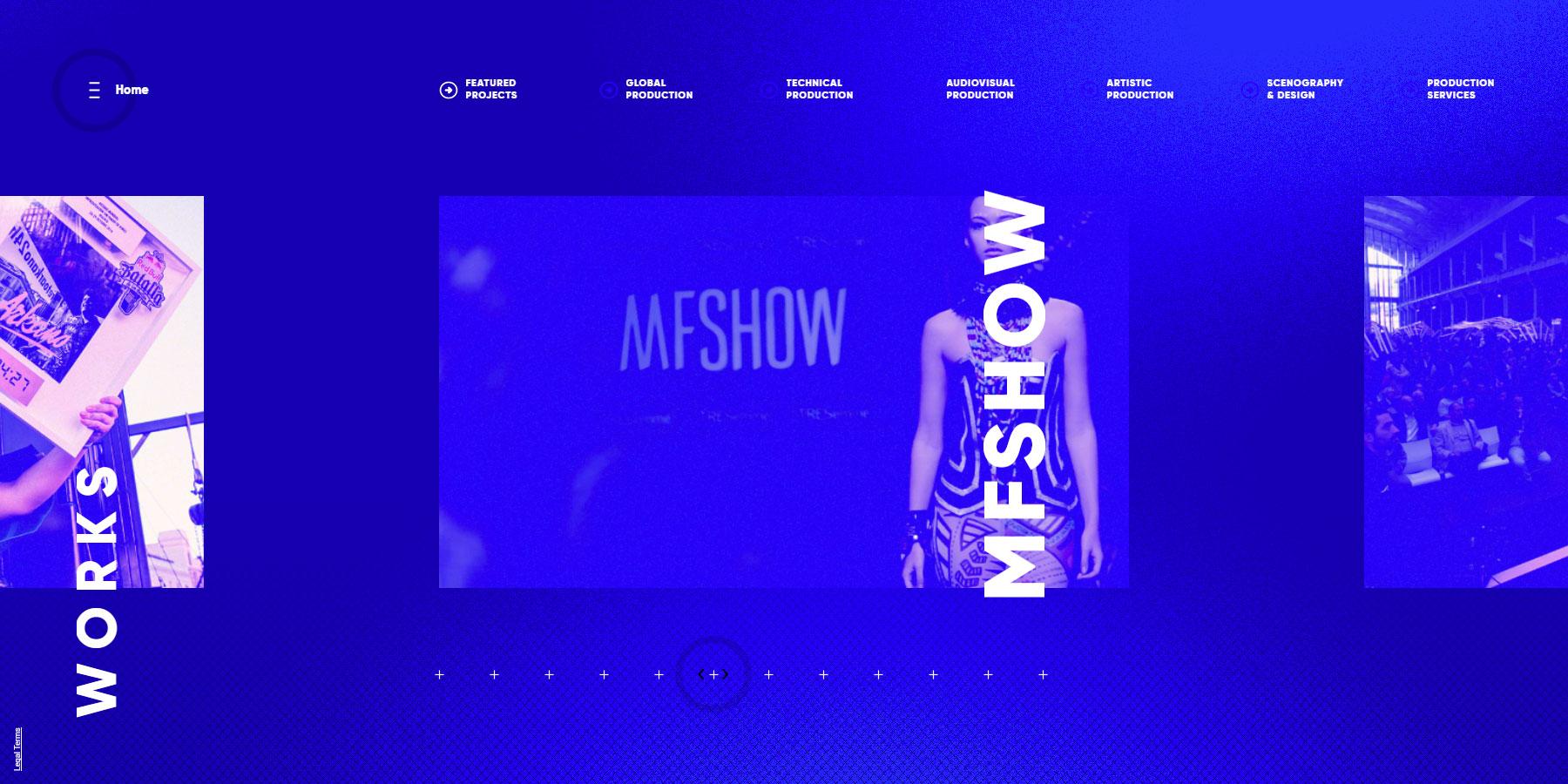 Fazeta Producciones - Website of the Month