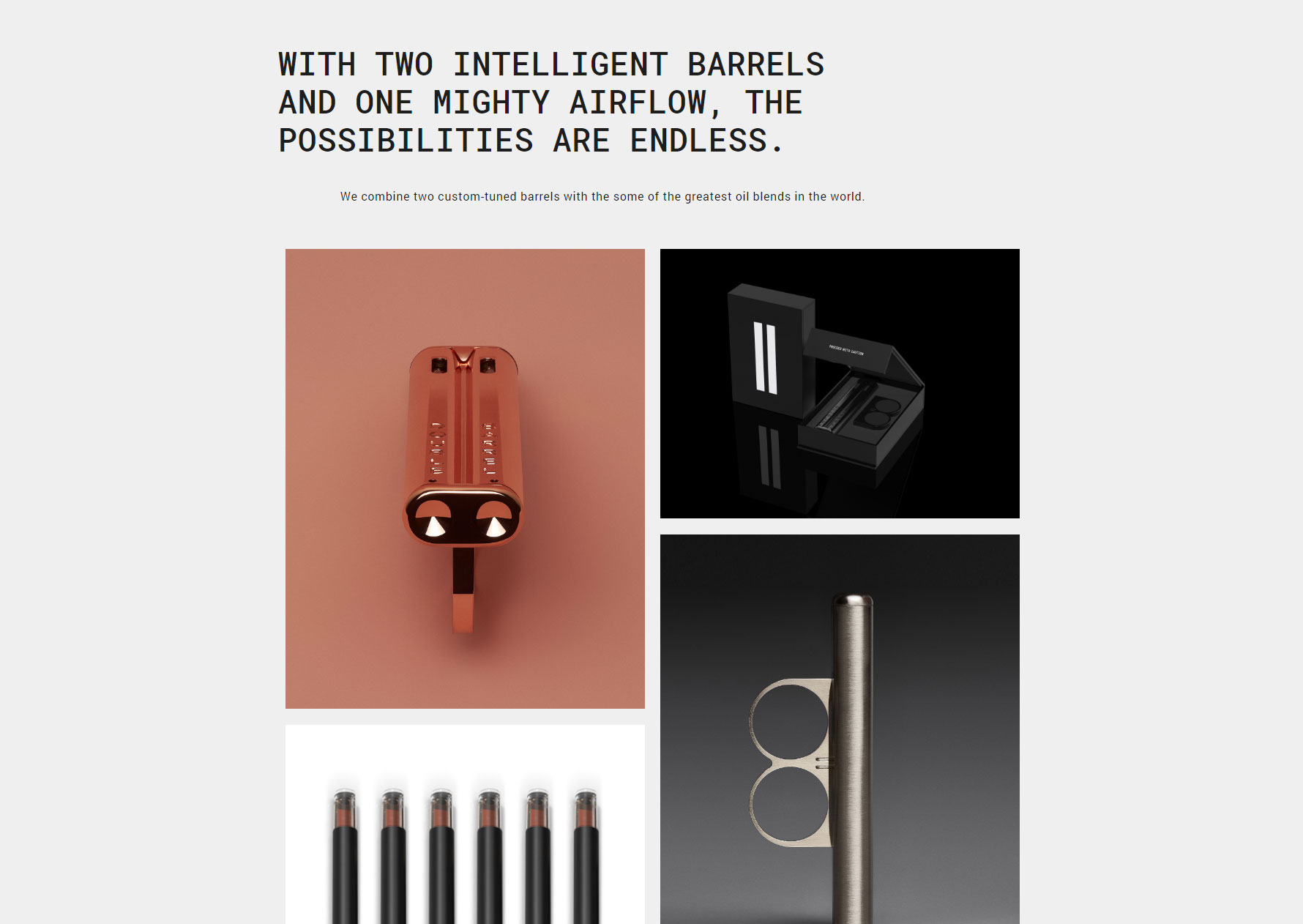 Double Barrel - Website of the Day