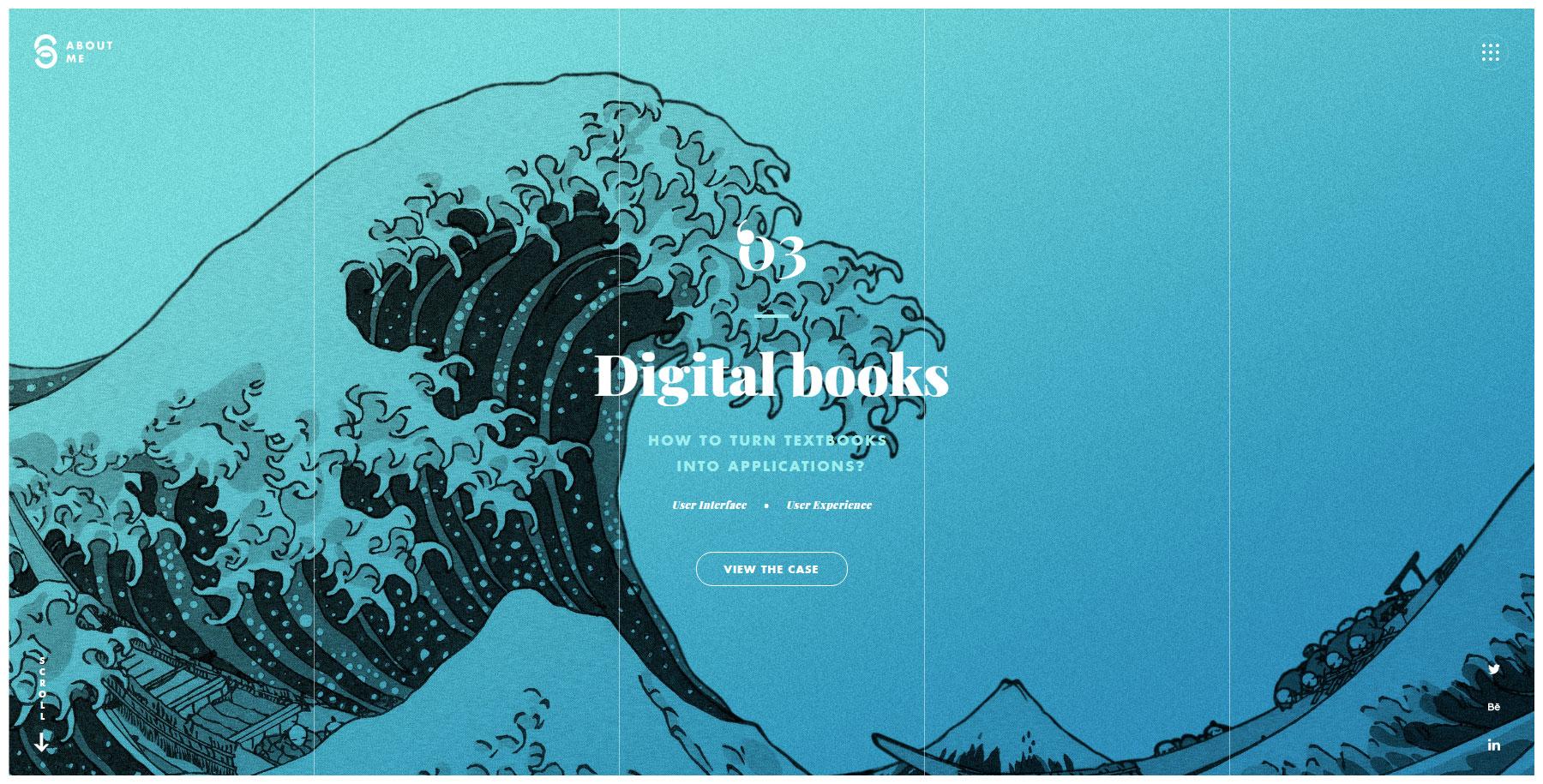 Mat Serra . Design - Website of the Day