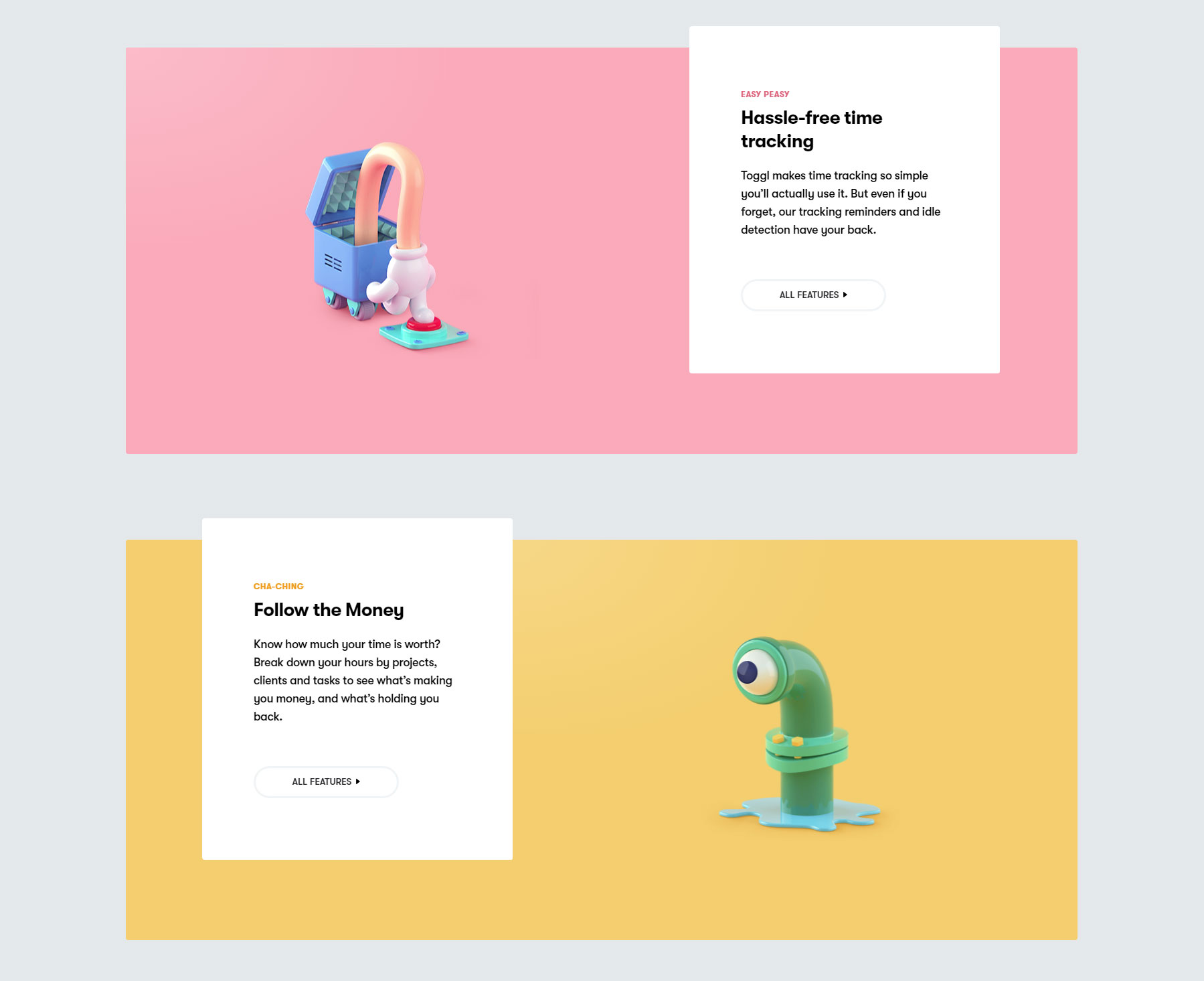 Toggl - Website of the Day