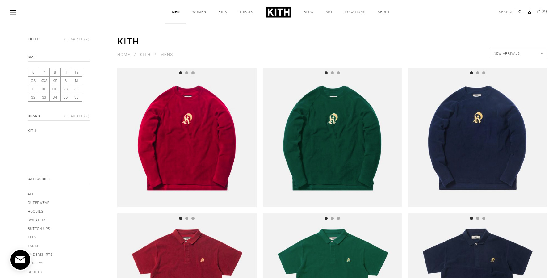 KITH - Website of the Day