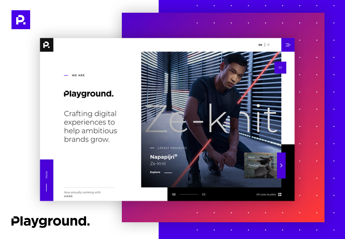 Playground - Corporate website