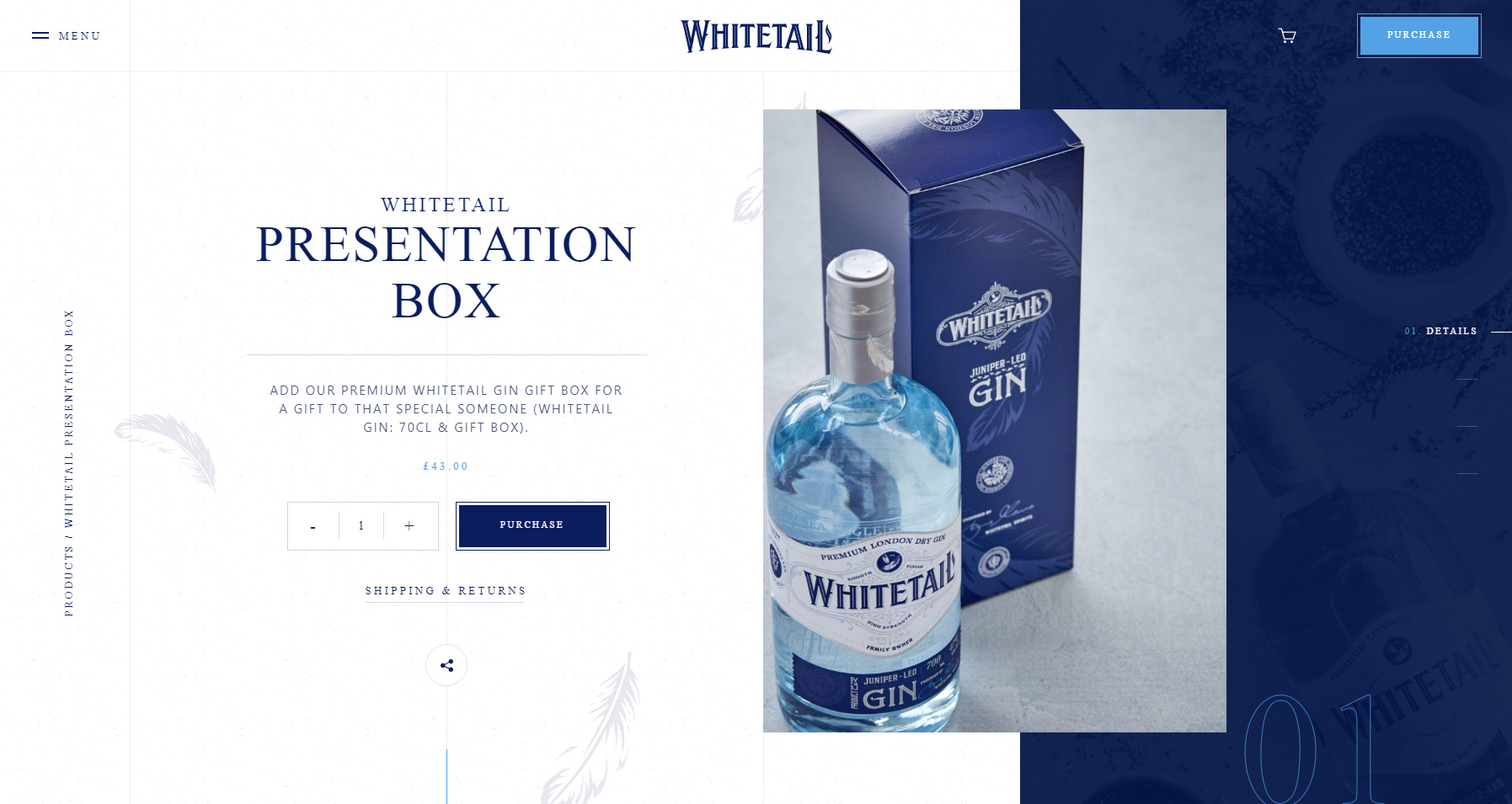 Whitetail Gin - Website of the Day