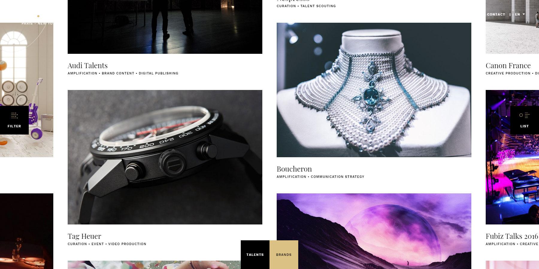 Fubiz Studio - Website of the Day