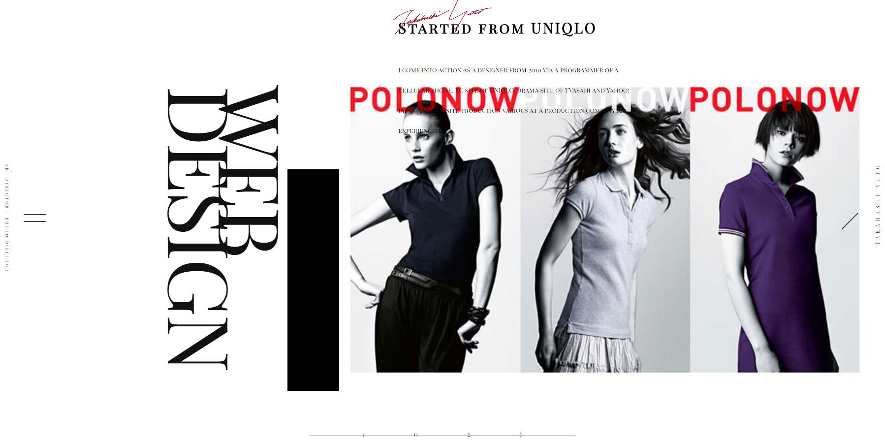 Yuto Takahashi - Designer - Website of the Day