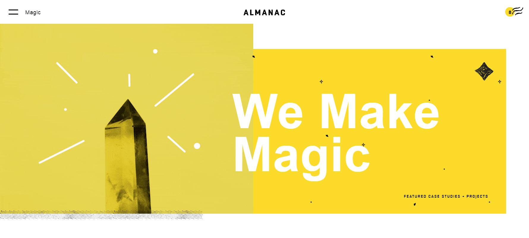 Almanac - Website of the Month